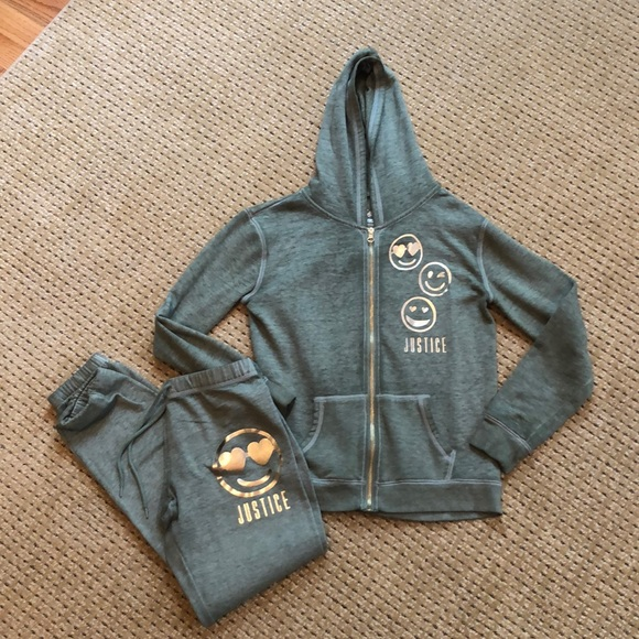 Justice Other - Girls Size 14 Sweatsuit from Justice